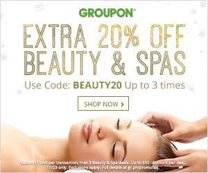 Groupon Beauty And Spa Promo Code