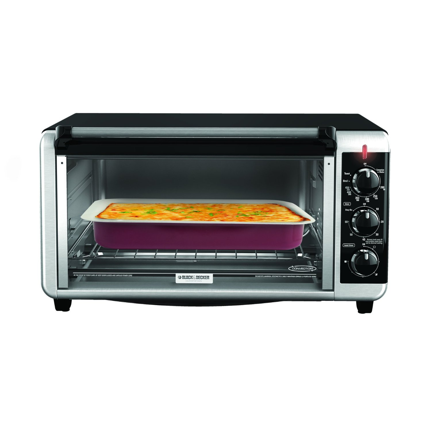black and decker convection oven 12 pizza manual