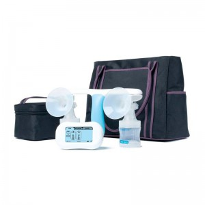 the-first-years-breastflow-memory-double-electric-breast-pump-w-tote-bpa-free