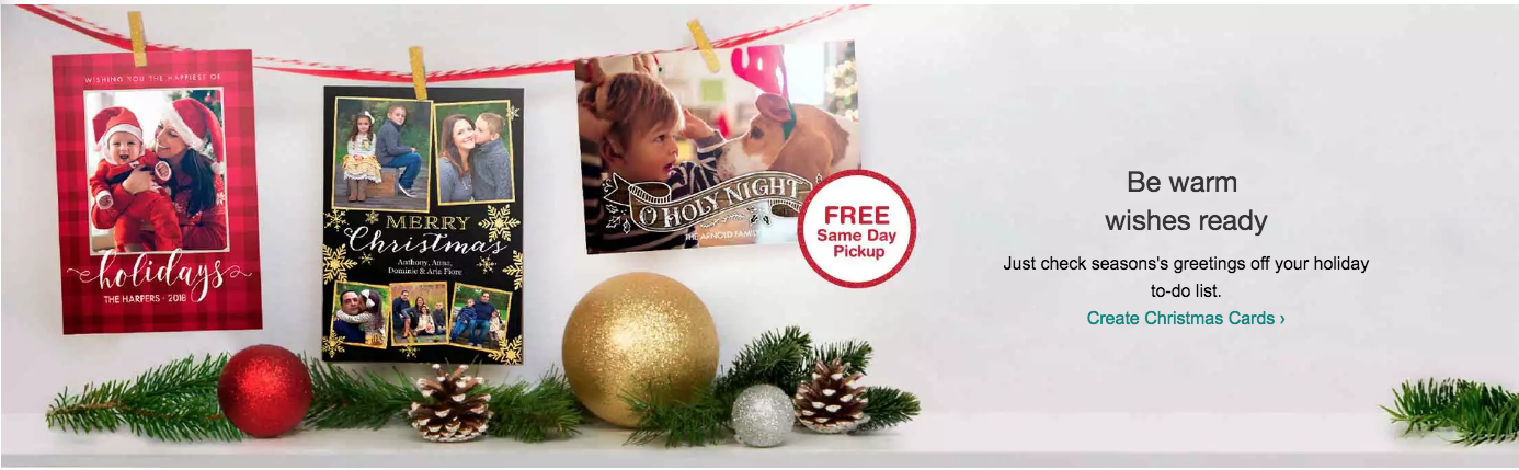 buy 1 set of photo cards get 2 sets free at walgreens monday 112717 only with promo code cyberpic offer not valid in store or mobile app - Is Walgreens Open Christmas Eve