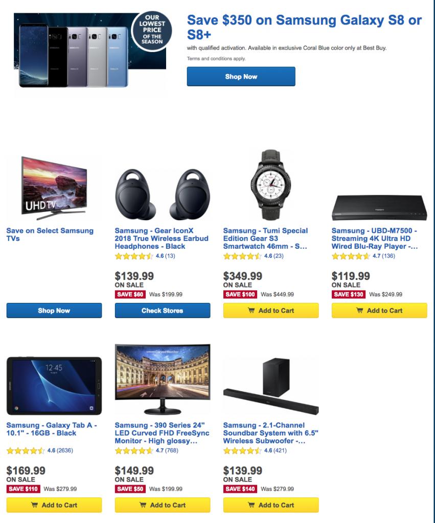 Best Buy Day 10 - All Samsung! - deranged.mederanged.me