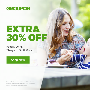 dead new groupon code extra 30 off
