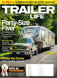 Trailer Life Magazine only $8 today - deranged mederanged me