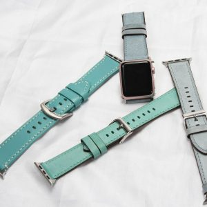 Personalized Leather Apple Watch Bands Deranged Mederanged Me
